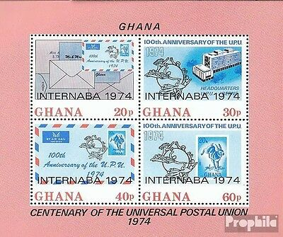 Ghana block56a (complete.issue.) unmounted mint / never hinged 1974 Philately