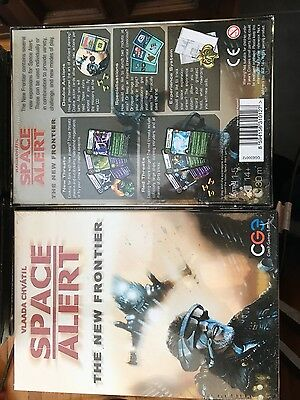 Space Alert Expansion : The New Frontier Game - NEW