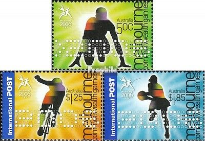 Australia 2527I-2529I (complete.issue.) unmounted mint / never hinged 2006 Sport