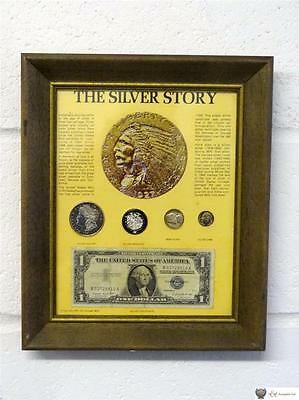 USA The Silver Story Numismatic Display, Silver Certificate Dollar, 1921-1957