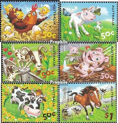 Australia 2492-2497 (complete.issue.) unmounted mint / never hinged 2005 Animals