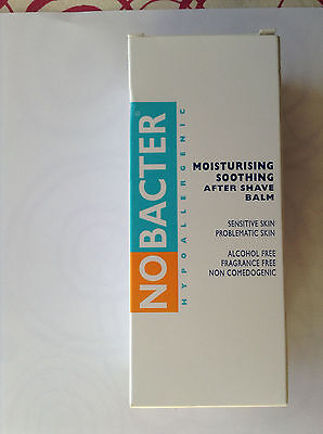 No Bacter Baume Apres-Rasage Hydratant Apaisant 75 Ml