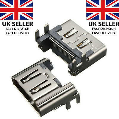 Sony Playstation 4 Ps4 Hdmi Port Display Socket Jack Connector - *2016 Design*