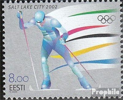 Estonia 426 (complete.issue.) unmounted mint / never hinged 2002 Winter Games