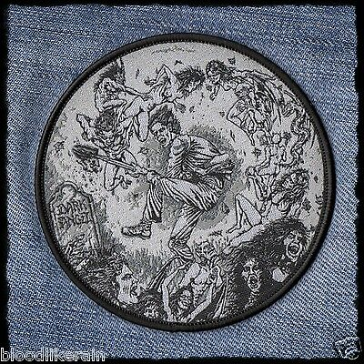 DARK ANGEL We Have Arrived woven patch aufnäher Thrash Metal rare limited to 100