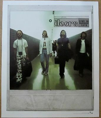 The Doors - Ray Manzarek -LIVE IN VANCOUVER LIMITED ED. Promo Poster [2011] - NM
