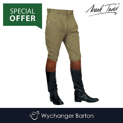 Mark Todd Mens Auckland Breeches (Olive) SPECIAL OFFER