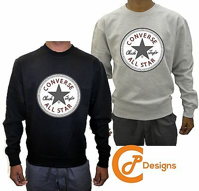 Converse Unisex Sweatshirt Jumper Sweater Hood Hoody Dope Quality Fast Delivery