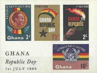Timbres Ghana BF2 ** lot 15211