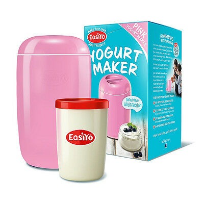 EasiYo Yogurt Maker - Pink - New Shape