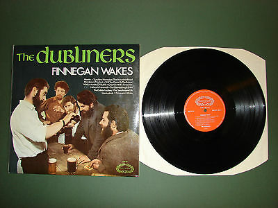 The Dubliners Finnegan Wakes LP Vinyl Record 1966 CHM695