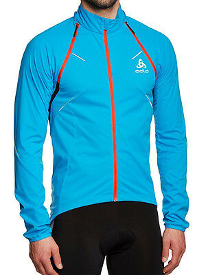 odlo Logig Zip Off Funktionsjacke Softshell Radsport Gr.S , 46/48 UVP 159€