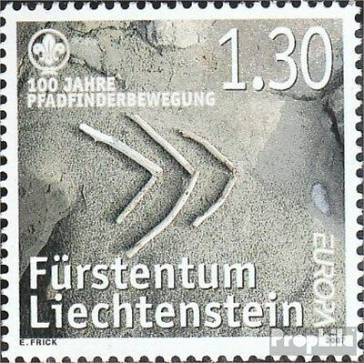 Liechtenstein 1436 (complete.issue.) fine used / cancelled 2007 Europe: Scouts