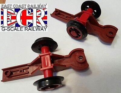 BRAND NEW G SCALE 45mm Gauge RC LOCO RAILWAY TRAIN FRONT & REAR BOGIES AS SHOWN