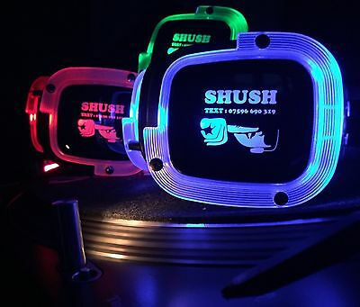 Silent Disco 30 headphone party package. 3 channels! Full LED. Latest technology