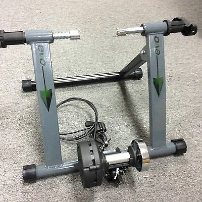 EVO E-Spin Mag Remote Bicycle Trainer Bike magnetic Resistance Trainer MSRP $199