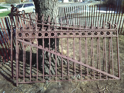 Antique Wrought Iron Gates