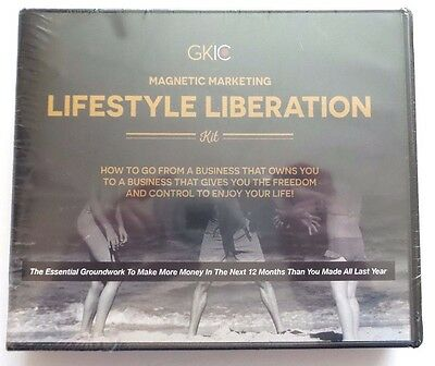 GKIC: Magnetic Marketing - Lifestyle Liberation Kit - Usually ships in 12 hrs!!!