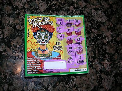 California Lottery (100) $2 Second Chance Scratcher Tickets F