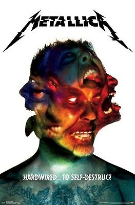 Metallica Hardwired To Self-Destruct... Album Cover Poster New  !