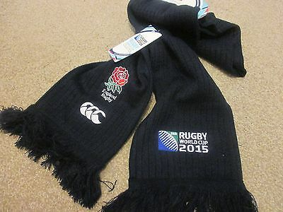 Official 2015 Rugby World Cup England Scarf - Brand New