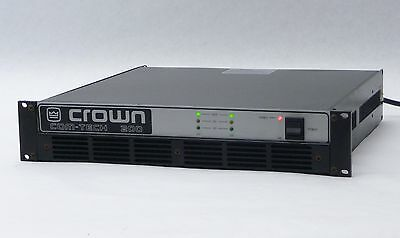 Crown Com-Tech Ct 200 2-Channel 2-Ch Amp Stereo Power Pro Amplifier W/ Atx Pip