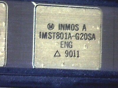 IMST801A-G20SA INMOS A T801 Transputer PGA-100 - Vintage 1990 - extremly rare!