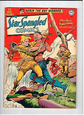 DC STAR SPANGLED COMICS #102 Fred Ray cover and art 1950 FN Vintage Comic