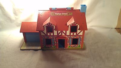 Fisher Price Vintage 1969 Doll House