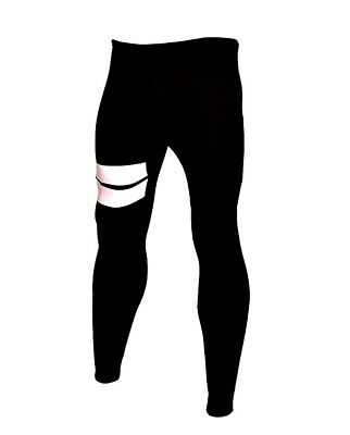 New Mens 3mm Black Neoprene Wetsuit Pants Side Panels Surf Surfing Small-2XL