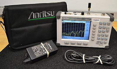 Anritsu S820D SiteMaster Cable & Antenna Analyzer, 25 MHz to 20 GHz Opts 5, 22