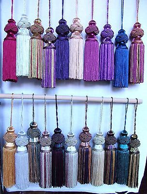 "DISCOUNTED PRICE on TWO Turk Knot Key Tassels ~ 6"" in Length ~ CHOICE of COLORS"