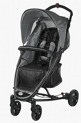 Guzzie and Guss Goose Stroller Black