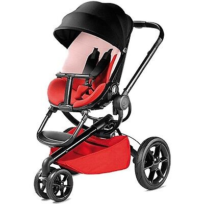 Quinny Moodd Stroller - Color Block Red