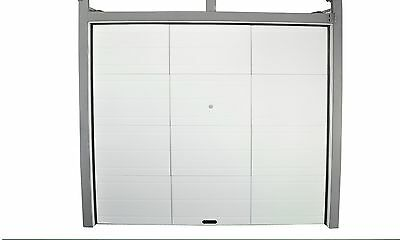 #b NEW Sectional Garage Door Remote Control Greyish White High-quality Durable