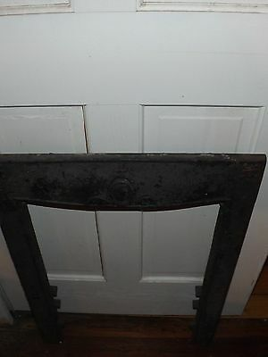 Antique Cast Iron Fireplace Surround From Asheville,nc.