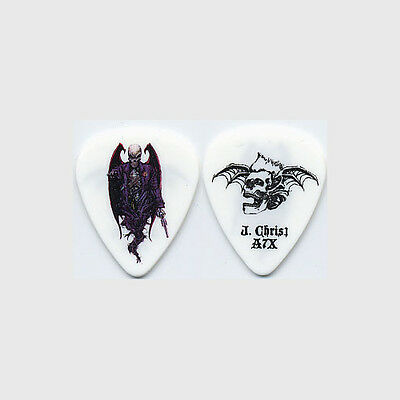 Avenged Sevenfold Johnny Christ authentic 2008 tour Guitar Pick