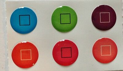 Candy color +Boxes 120 IPHONE 5 Home Button Sticker 6pk Free gift with purchase