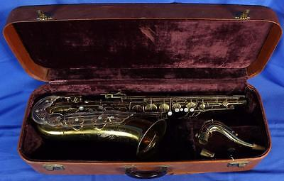 Vintage 1954 Keilwerth The New King Tenor Sax - All NEW PADS Series III