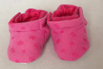 Pink Slippers, Doll Shoes 4 Baby Alive / Baby Born