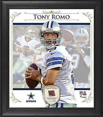 Tony Romo NFLDallas Cowboys Framed 15x17 Collage with Piece of Game Football