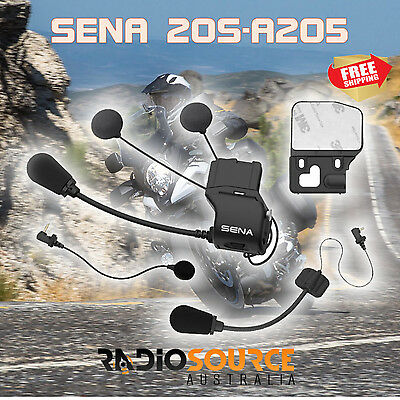 Sena 20S-A0205 Universal Helmet Clamp Kit with SLIM Speakers for 20S