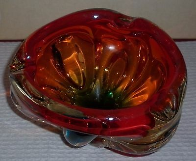 Vintage Murano /japanese Art Glass Bowl  Good Condition