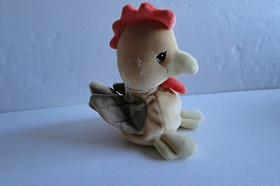 NWT Precious Moments - 540617 - Tender Tails -Rooster Plush Toy