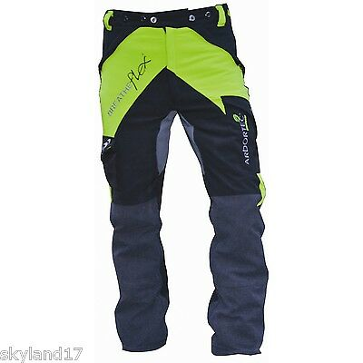 ARBORTEC BREATHEFLEX CHAINSAW TROUSERS TYPE A - Large - LIME