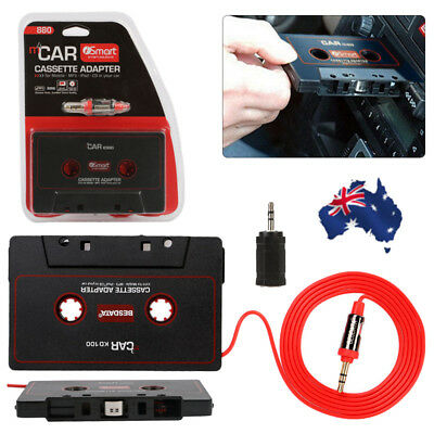 Car Audio Cassette Tape Adapter Converter For iPod Phone CD MD MP3/4 AUX 3.5mm