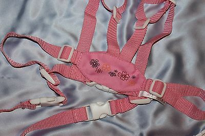 Baby Girl Toddler  Walking Assistant Learning Walk Safety Pink Reins Harness