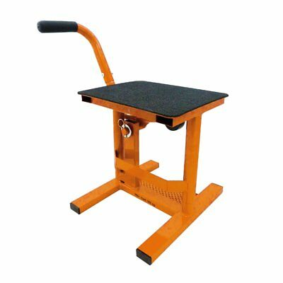 Bequille Stand Motocross Orange 040010G Motomike 34