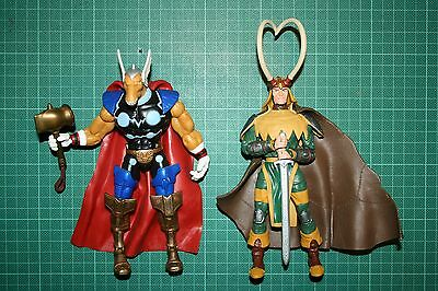 Marvel Legends Beta Ray Bill Loki Thor Asgard Toy Biz Two Pack Avengers
