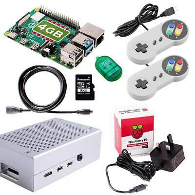 Raspberry Pi 3 16GB Quad Core Retro Gaming Bundle (Latest 2018 Model 3B Plus)